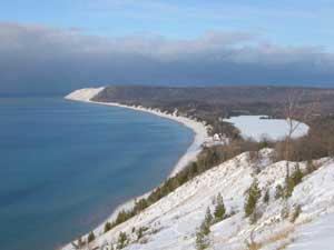 Lake Michigan at Sleeping Bear Dunes National Lakeshore. Photo by Mary Anne Evans.