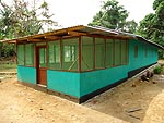 The newly completed maternity waiting home in Yila, Liberia. Courtesy of Jody Lori