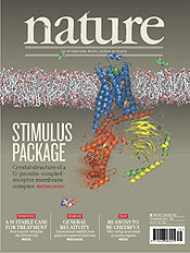 Vital protein complex and therapeutic possibilities revealed. Nature magazine cover