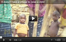 Video screenshot: It doesn't take a village